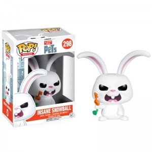 Figurine POP La vie secrète des animaux - Insane Snowball (Exclusive)