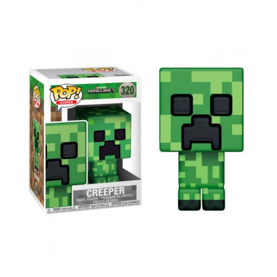 Figurine Minecraft - Creeper Pop