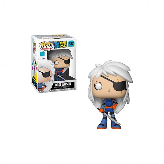 Figurine Teen Titans Go ! - Rose Wilson Pop
