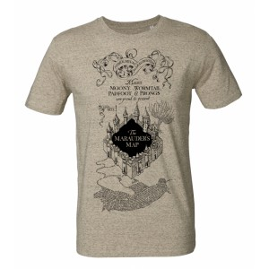 Tshirt Harry Potter Marauder's Map
