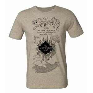 Tshirt Harry Potter Marauder's Map