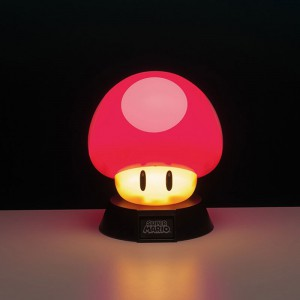 Lampe 3D Nintendo Super Mario Power-Up