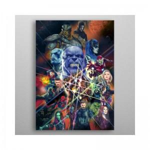 Panneau en Métal Marvel Infinity War