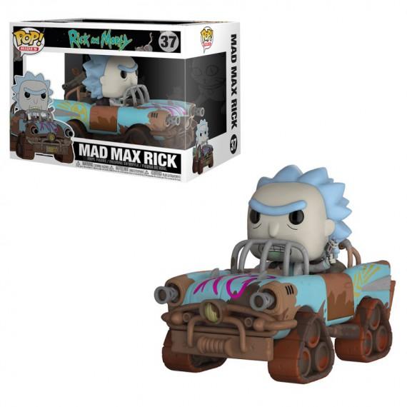 Figurine Pop! Rick & Morty - Mad Max Rick