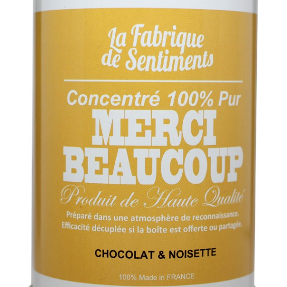 """Chocolats """"Merci Beaucoup"""""""