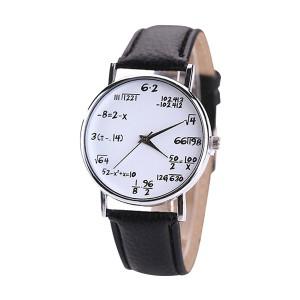 La montre mathématiques