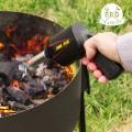 Pistolet ventilateur pour barbecue - allumage facile