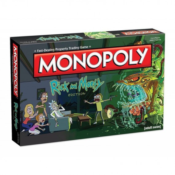 Monopoly Rick & Morty