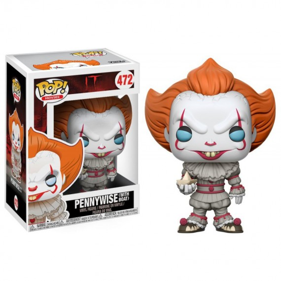 Figurine Pop It / Ca - Pennywise et son bateau