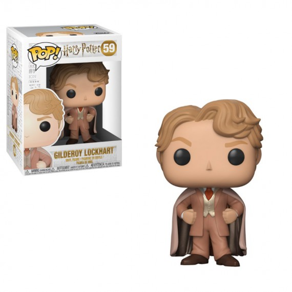 Figurine POP Harry Potter - Harry Gilderoy Lockhart