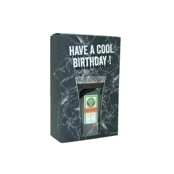 COFFRET BIRTHDAY JAGERMEISTER 0.02L