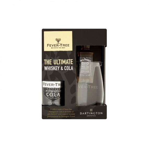 Coffret Whisky Fever-Tree - JACK DANIEL'S 0.05L + 1 Verre + Cola 0.20L