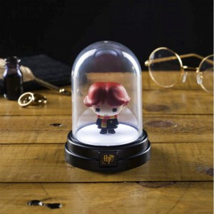 Lampe sous cloche Harry Potter - Ron