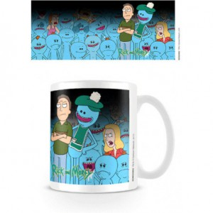 Mug Rick et Morty - Jerry et Mr Meeseeks Thermoréactif