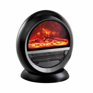 Chauffage céramique d'intérieur avec effet feu de bois
