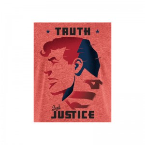 Tshirt DC Comics - Superman Truth and Justice