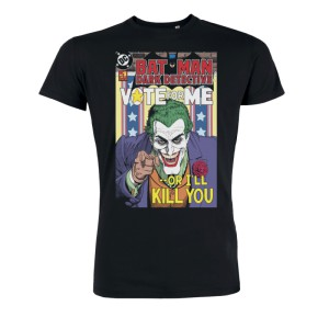 Tshirt DC Comics Batman - Joker Vote for me