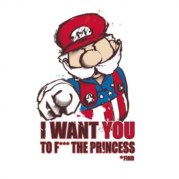 Tshirt Oncle Mario