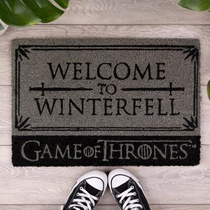 Paillasson Game of Thrones - Welcome to Winterfell - Stark
