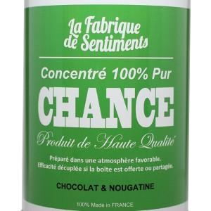Sentiments en boîtes - Chance chocolatée