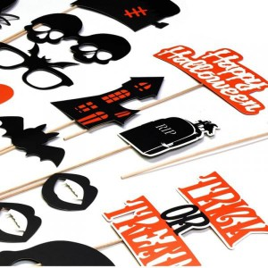 Kit photobooth pour Halloween