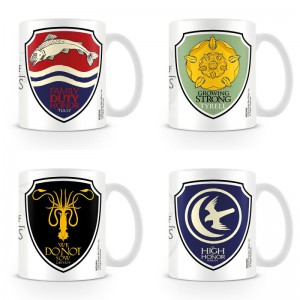 Mug Game of Thrones - Maisons