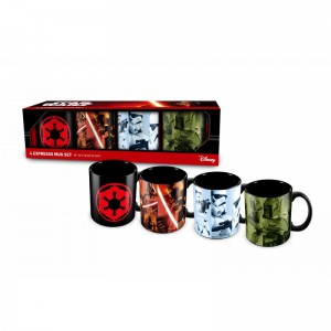 Set de 4 tasses Star Wars Expresso