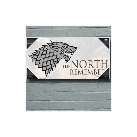 Décoration Murale Game Of Thrones Maison Stark