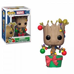 Figurine Pop Les Gardiens de la Galaxie - Groot fête Noël