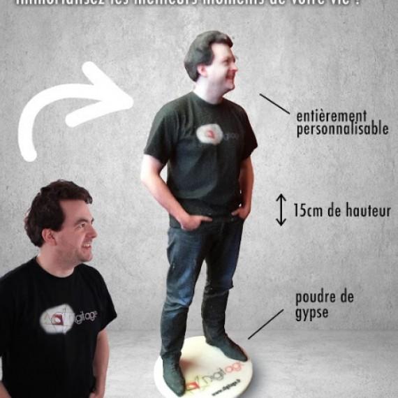 Transformez-vous en figurine de 15 cm - Devenez collector