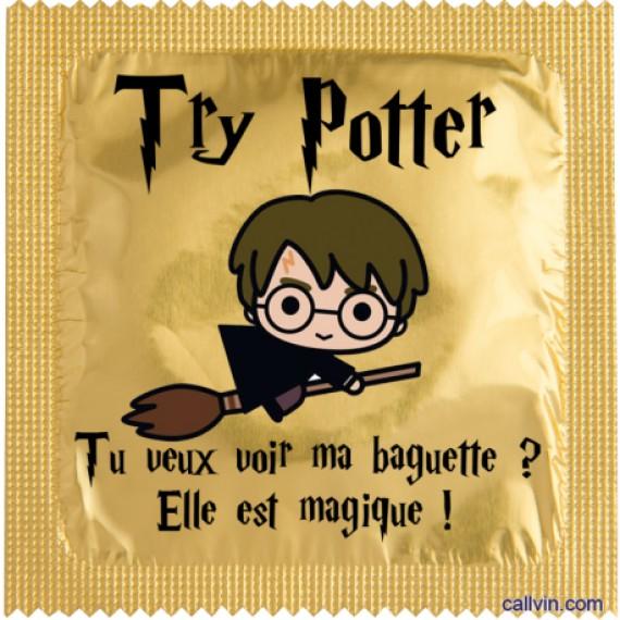 Préservatif - Try Potter