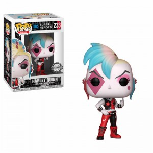 Figurine POP Harley Quinn Punk (Exclusive)