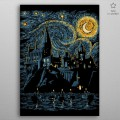 Poster en Métal Harry Potter Starry School