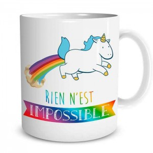 Mug licorne Impossible