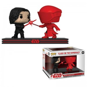 Bobble Head POP Movie Moments Star Wars Kylo Ren and Praetorian Guard