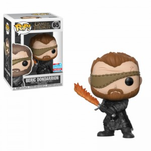 Figurine Game of Thrones Beric Dondarrion with Flame Sword (NYCC 2018 Exclusive)