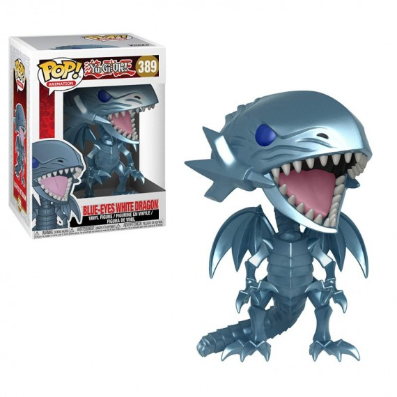 Yu-Gi-Oh ! - Blue eyes white Dragon - Pop 10