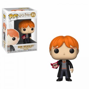 Figurine POP Harry Potter Ron with Howle