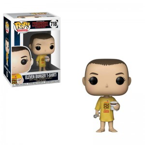 Figurine POP Stranger Things Eleven in Burger T-Shirt