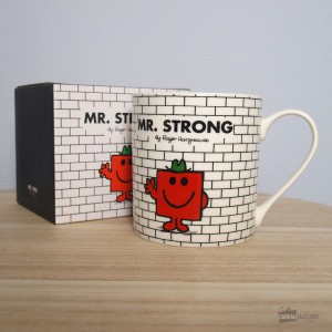 Mug Mr. Strong (Monsieur Costaud) - Monsieur et Madame