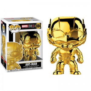 Figurines Pop Marvel - Version chromées & shiny