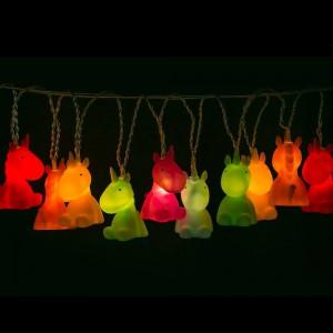 Guirlande Lumineuse LED Licornes