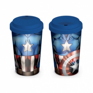 Travel Mug Captain America