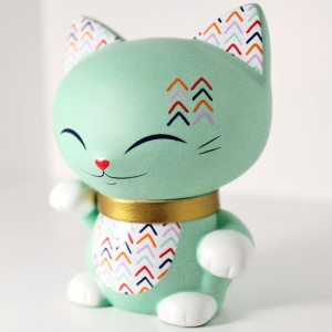 Lucky Cat - Mani le petit chat - 7 cm