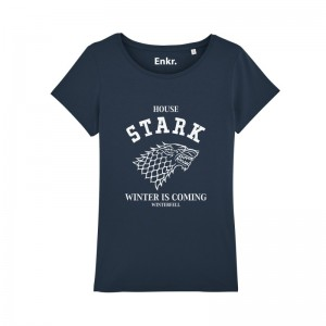 T-Shirt Stark Game of Thrones Winter is coming Femme