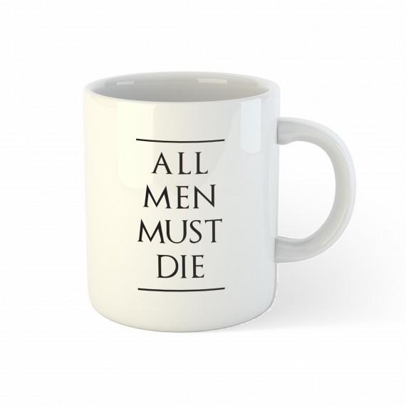 Mug Le Trône de fer - All men must die