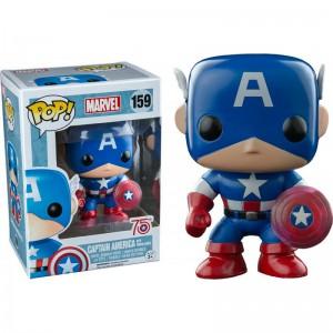 Figurine Marvel - Captain America 75th photon Shield Exclusive Pop 10cm