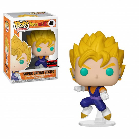 Figurine Pop Exclusive Dbz Super Saiyan Vegito Comment
