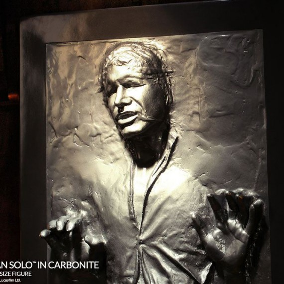 Han Solo en Carbonite 1:1