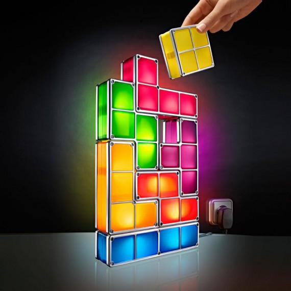 Lampe Tetris Blocs Lumineux personnalisable